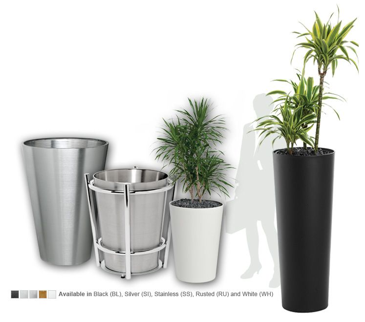 Conical Planter 01