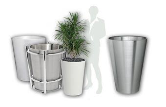 Planters conical Tapered